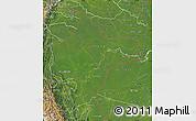 Satellite Map of Loreto