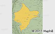Savanna Style Map of Loreto