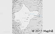 Silver Style Map of Loreto