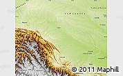 Physical Map of Manu