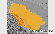 Political Map of Manu, desaturated
