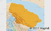 Political Map of Manu, lighten