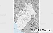 Gray Map of Moquegua