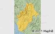 Savanna Style Map of Moquegua