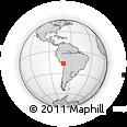 Outline Map of Moquegua