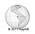 Outline Map of Ayabaca