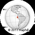 Outline Map of Piura
