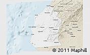 Classic Style 3D Map of Talara