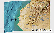 Satellite 3D Map of Talara