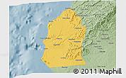 Savanna Style 3D Map of Talara