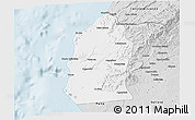Silver Style 3D Map of Talara