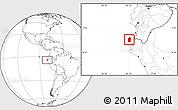 Blank Location Map of Talara