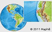 Physical Location Map of Talara