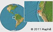 Satellite Location Map of Talara