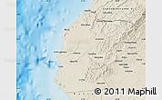 Shaded Relief Map of Talara