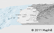 Gray Panoramic Map of Talara
