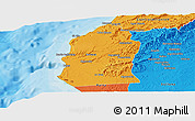 Political Panoramic Map of Talara