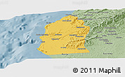 Savanna Style Panoramic Map of Talara