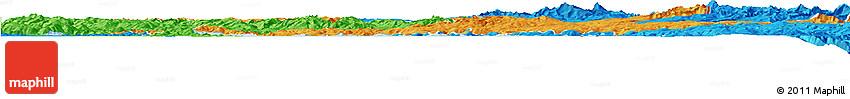 Political Horizon Map of Huancane
