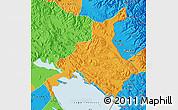 Political Map of Huancane