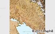 Satellite Map of Huancane