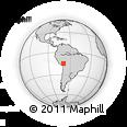 Outline Map of Huancane