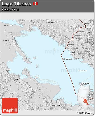 Lago Titicaca Map