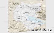 Classic Style Panoramic Map of Puno