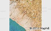 Satellite Map of Tacna