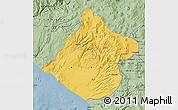 Savanna Style Map of Tacna