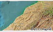 Satellite 3D Map of Contralmirante V