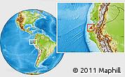 Physical Location Map of Contralmirante V