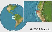 Satellite Location Map of Contralmirante V
