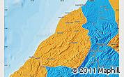 Political Map of Contralmirante V