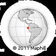Outline Map of Contralmirante V