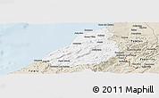 Classic Style Panoramic Map of Contralmirante V