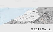 Gray Panoramic Map of Contralmirante V