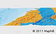 Political Panoramic Map of Contralmirante V