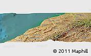 Satellite Panoramic Map of Contralmirante V