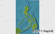 Satellite 3D Map of Philippines