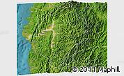 Satellite 3D Map of Abra