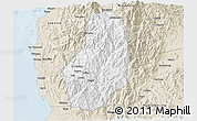 Classic Style 3D Map of Benguet