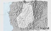 Gray 3D Map of Benguet