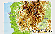 Physical 3D Map of Benguet