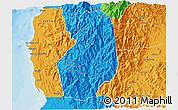 Political 3D Map of Benguet