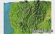 Satellite 3D Map of Benguet