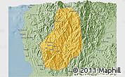 Savanna Style 3D Map of Benguet