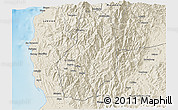 Shaded Relief 3D Map of Benguet