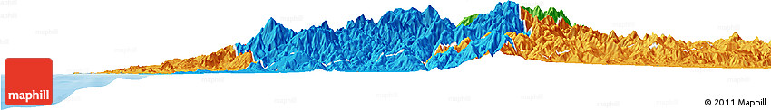 Political Horizon Map of Benguet