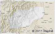 Classic Style 3D Map of Ifugao